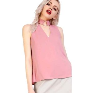 Choker-Top-Blush-Pink