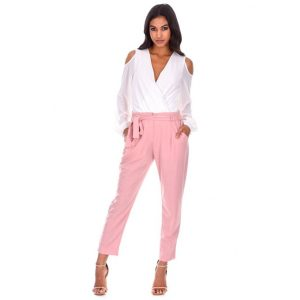 Cigarette Pants Pink
