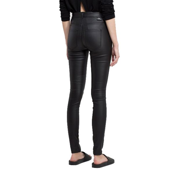 Dr Denim Jeans Black Metal