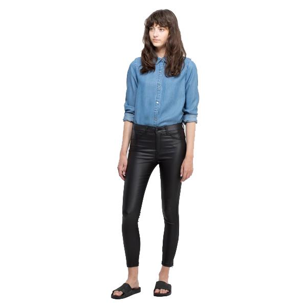 5c8633d5ed Dr Denim Jeans Black Metal Ankle Grazer - Sequin Cinderella