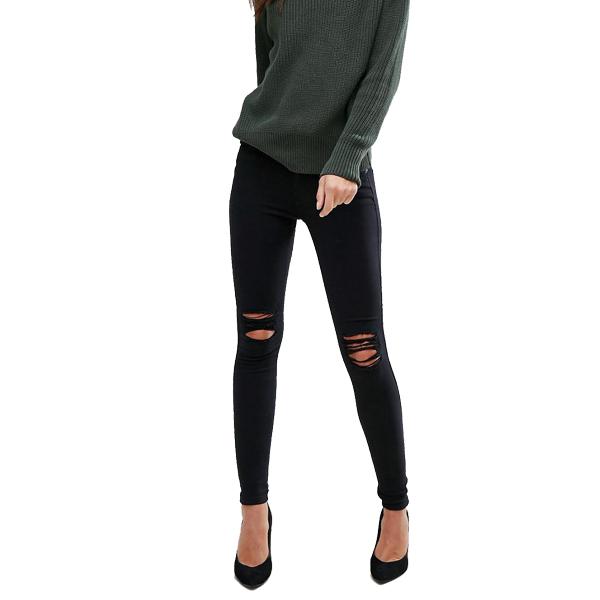 5a7914cb6f Dr Denim Jeans Black Ripped - Sequin Cinderella
