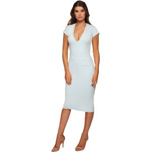 Ruched Dress Mint Green