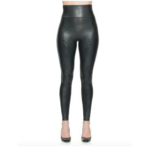 spanx leather look leggings