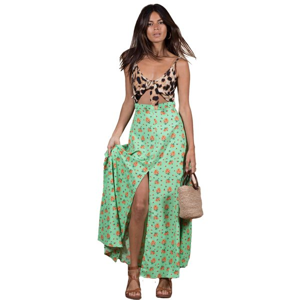 Dancing-Leopard-Malibu-Dress-Green-Daisy-And-Leopard-Print-1