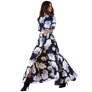 Dancing-Leopard-Maxi-Shirt-Dress-Midnight-Bloom-1