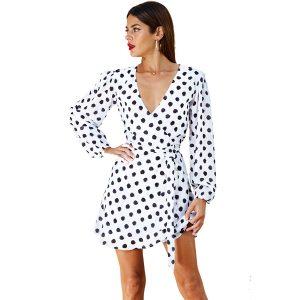 Dancing-Leopard-Zyler-Dress-White-Dot-1