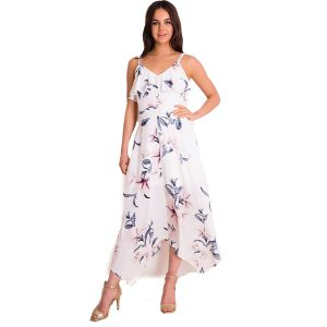White-Floral-Scarf-Dress-1