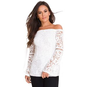 White-Lace-Bardot-Top
