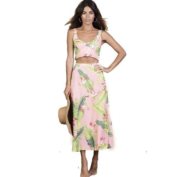 Dancing-Leopard-Ariel-Skirt-Pink-Banana-1