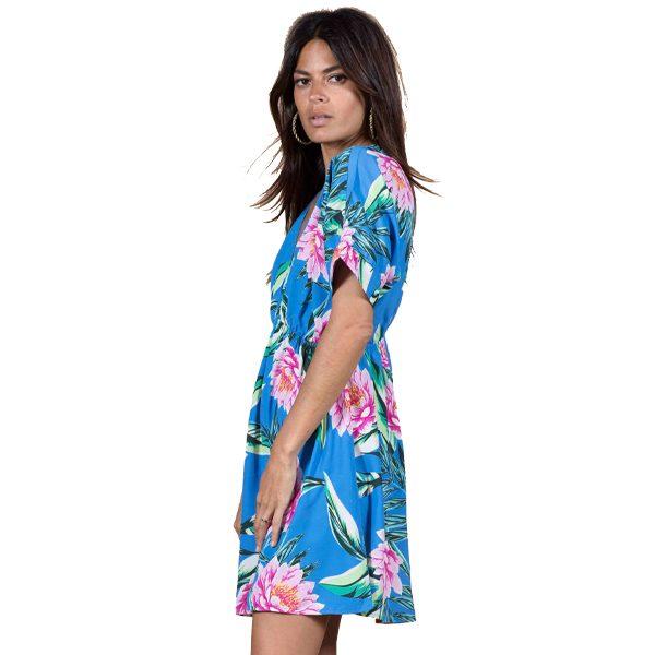 Dancing-Leopard-Milano-Dress-Blue-Tropical-3