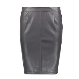 Grey-Leather-Look-Skirt-1