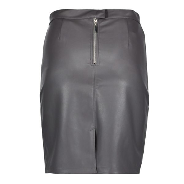 Grey-Leather-Look-Skirt-2