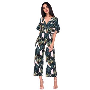 Leaf-Print-Jumpsuit-Sleeve-1