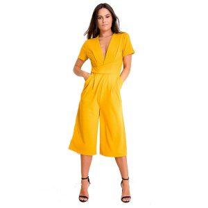Mustard-Culotte-Suit-1