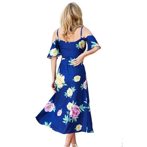 Dancing-Leopard-Ivy-Dress-Navy-Peony-Print-2