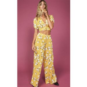Mustard-Floral-Trousers-Top