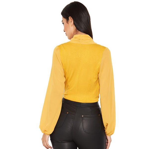 Mustard-Mesh-Sleeve-Bodysuit-2