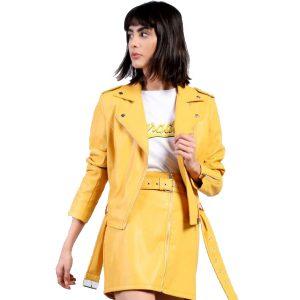 Mustard-Vegan-Leather-Jacket-1