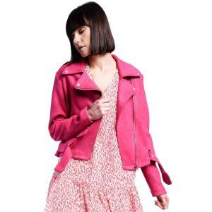 Pink-Suedette-Biker-Jacket-1