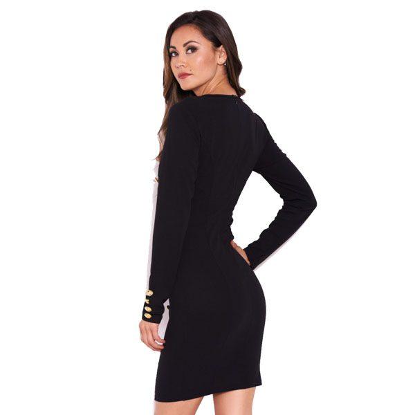 Black-Button-Long-Sleeve-Dress-3
