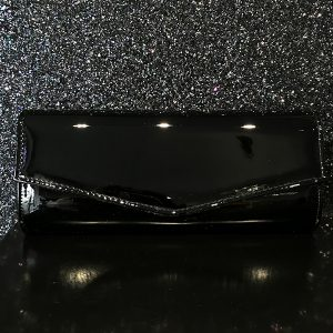Black-Patent-Clutch