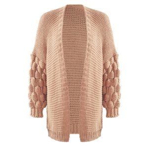 Bobble-Cardigan-Pink