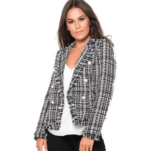 Black-And-White-Tweed-Blazer-1