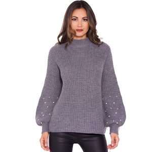 Grey-Pearl-Knit-Jumper-1