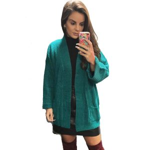 Teal-Knit-Cardigan