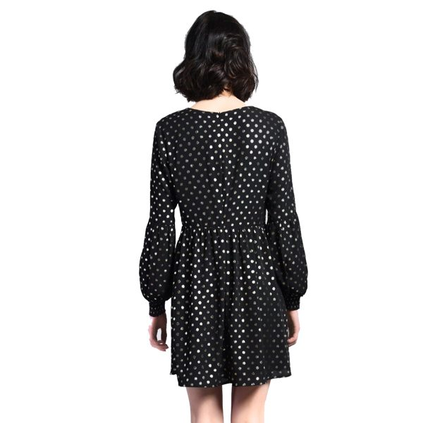 Black-And-Gold-Polkadot-Dress-2