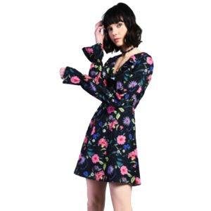 Black-Floral-Tea-Dress-1