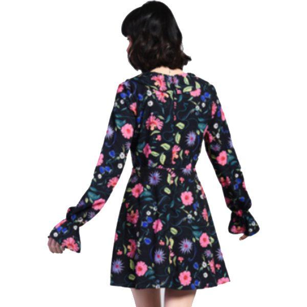 Black-Floral-Tea-Dress-2