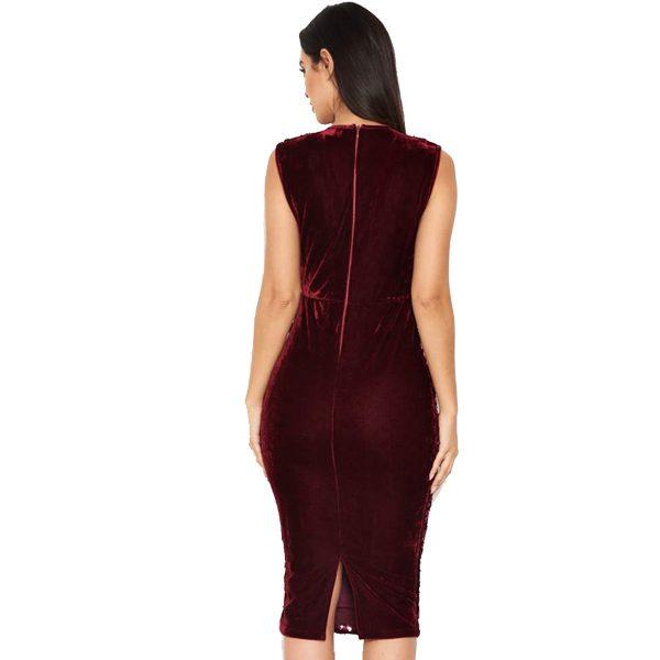 Burgundy-Sequin-Velvet-Dress-2