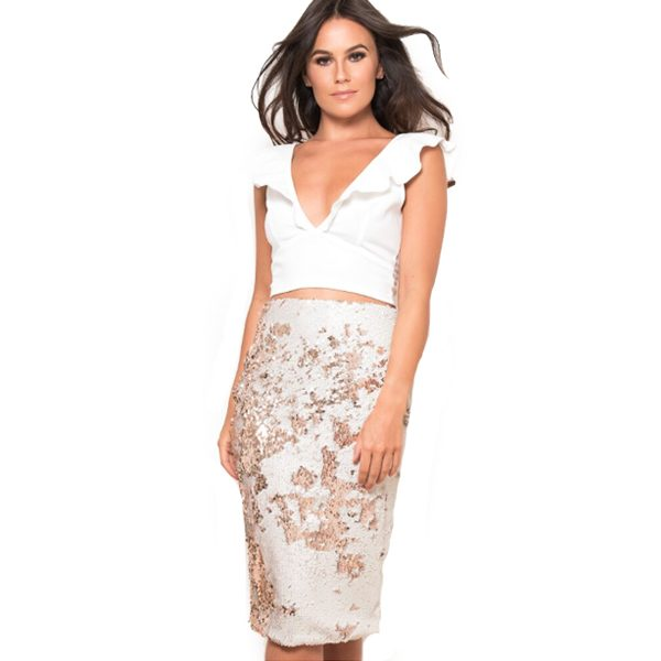 Cream-Gold-Sequin-Skirt-1