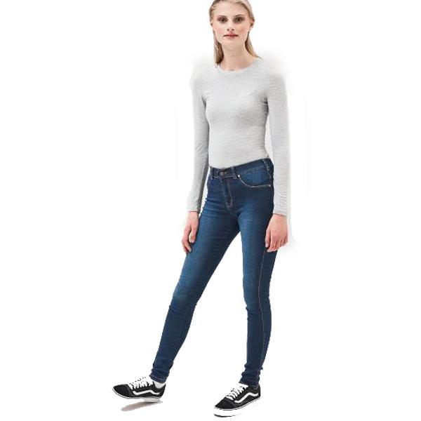 2fd66ea3b5 Dr Denim Jeans Worn Dark Blue - Sequin Cinderella
