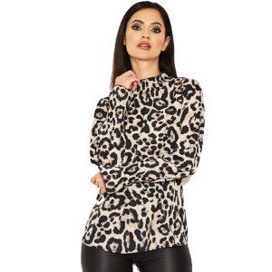 Leopard-High-Neck-Top-1
