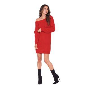Red-Bardot-Jumper-Dress-3