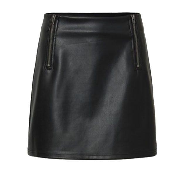 Leather-Look-Zip-Skirt-1