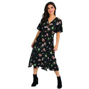 Black-Floral-Midi-Dress-1