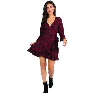 Wine-Snakeprint-Dress-1