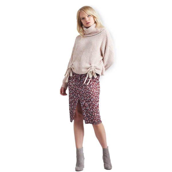 Chenille-Top-Leopard-Skirt