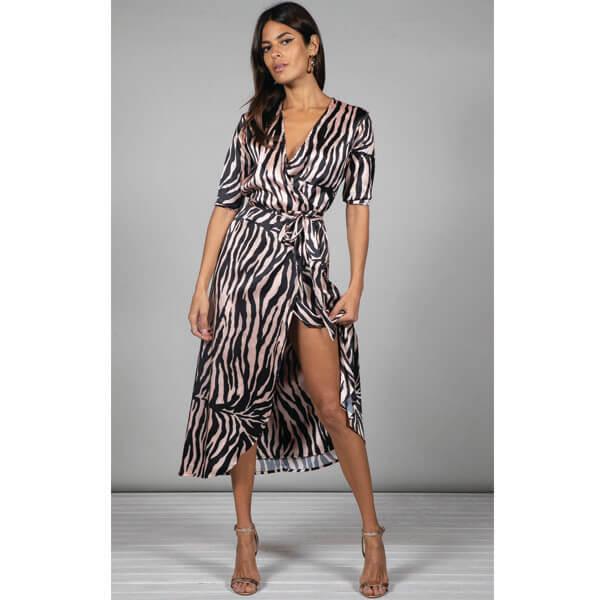 ef55048f6cea8 Dancing Leopard Yondal Dress Blush Zebra - Sequin Cinderella
