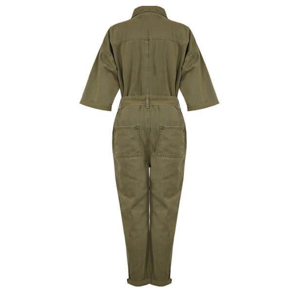 Khaki Boiler Suit