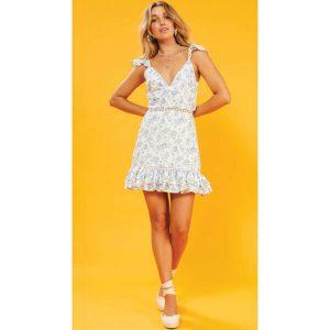 Skye Rose Mini Dress