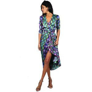 Dancing Leopard Yondal Dress Multi Snake