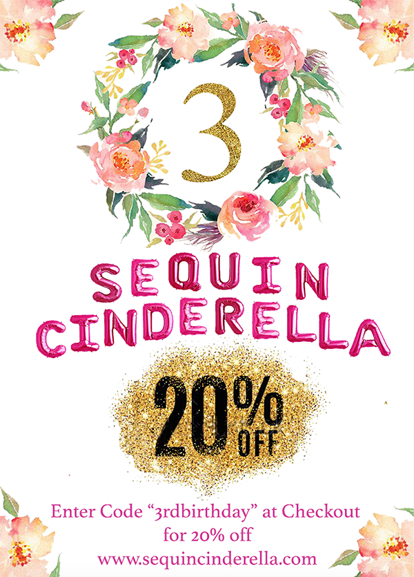 Sequin Cinderella Boutique