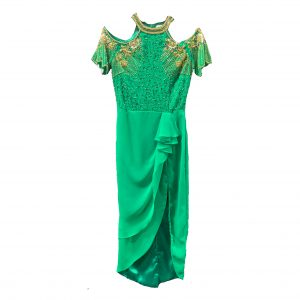 Virgos Lounge Reign Dress Green