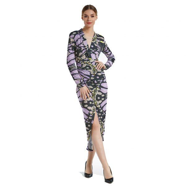 Lilac Butterfly Dress