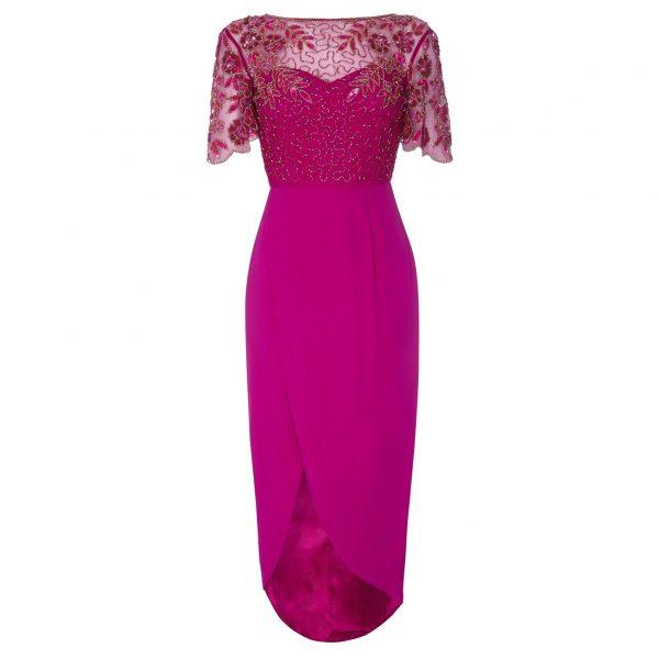 Virgos Lounge Rahaya Cerise Dress