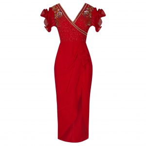 Virgos Lounge Olympia Red Dress